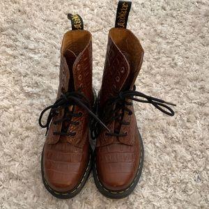 RARE Dr. Martens  Croc Boots